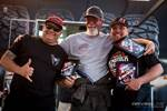 Top 3 finishers 4400 class at the 2019 Nitto Nor Cal Rock Race Round 3 - Dan Wyrick, Mike Bou, Brenden Thompson.