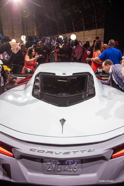 2020 Corvette Launches Mid Engine 495 Hp More Tech Less Than 60