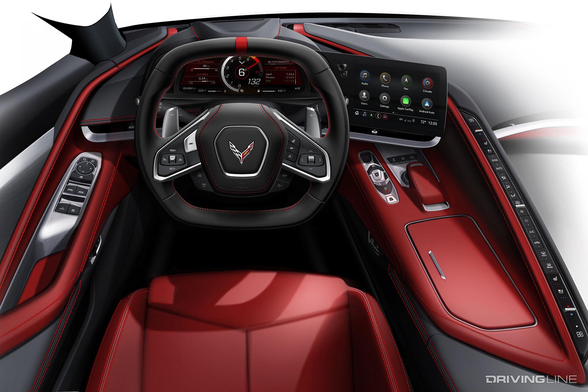 Vette Revolution: The Tech of the 2020 C8 Corvette ...