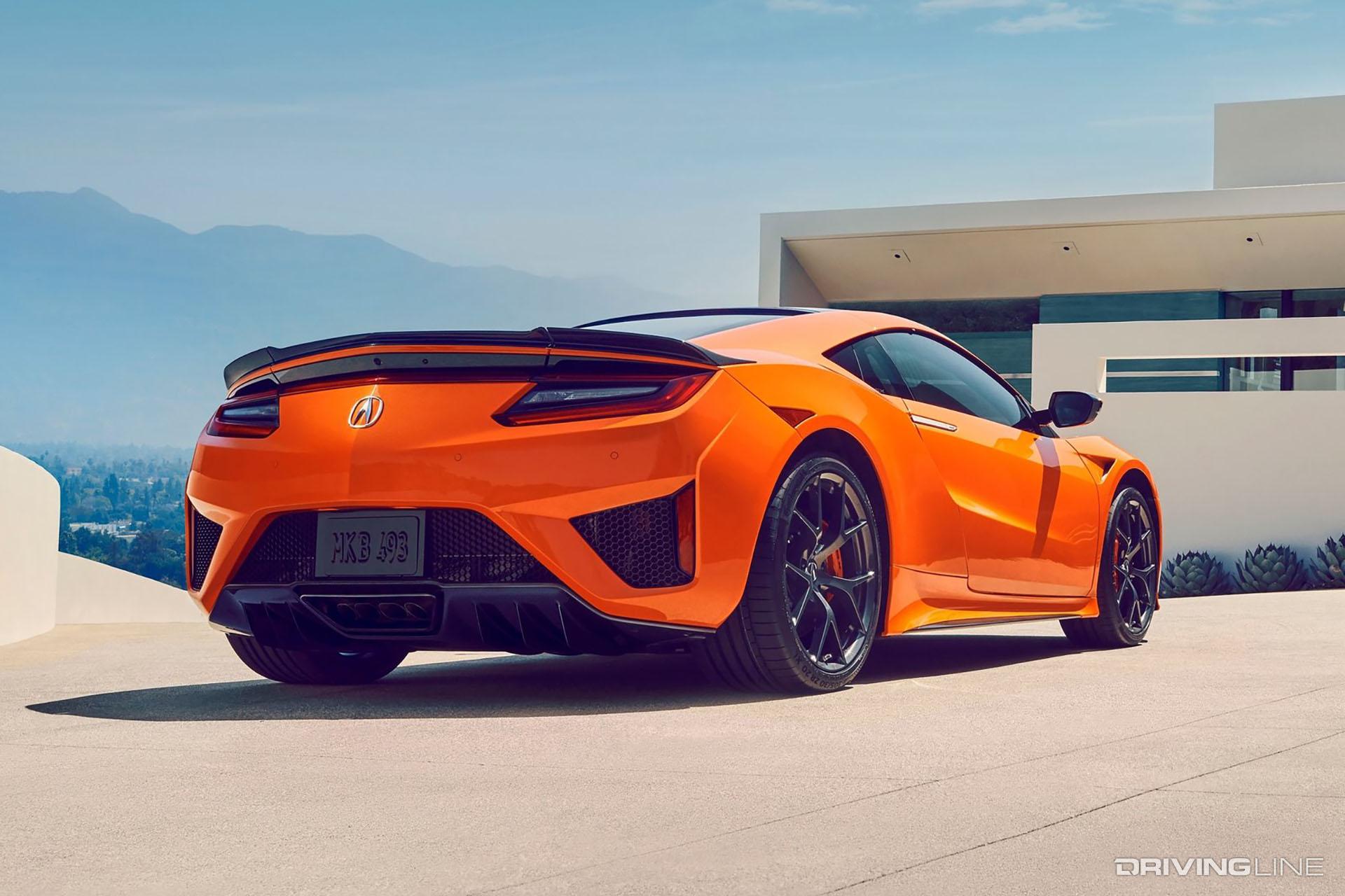 Mid-Engine Showdown: Acura NSX vs 2020 C8 Corvette | DrivingLine