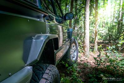 Rusty's Jeep XJ Fender Flares & Rocker Guards Upgrade