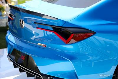 A Closer Look At The Acura Type S Concept Drivingline