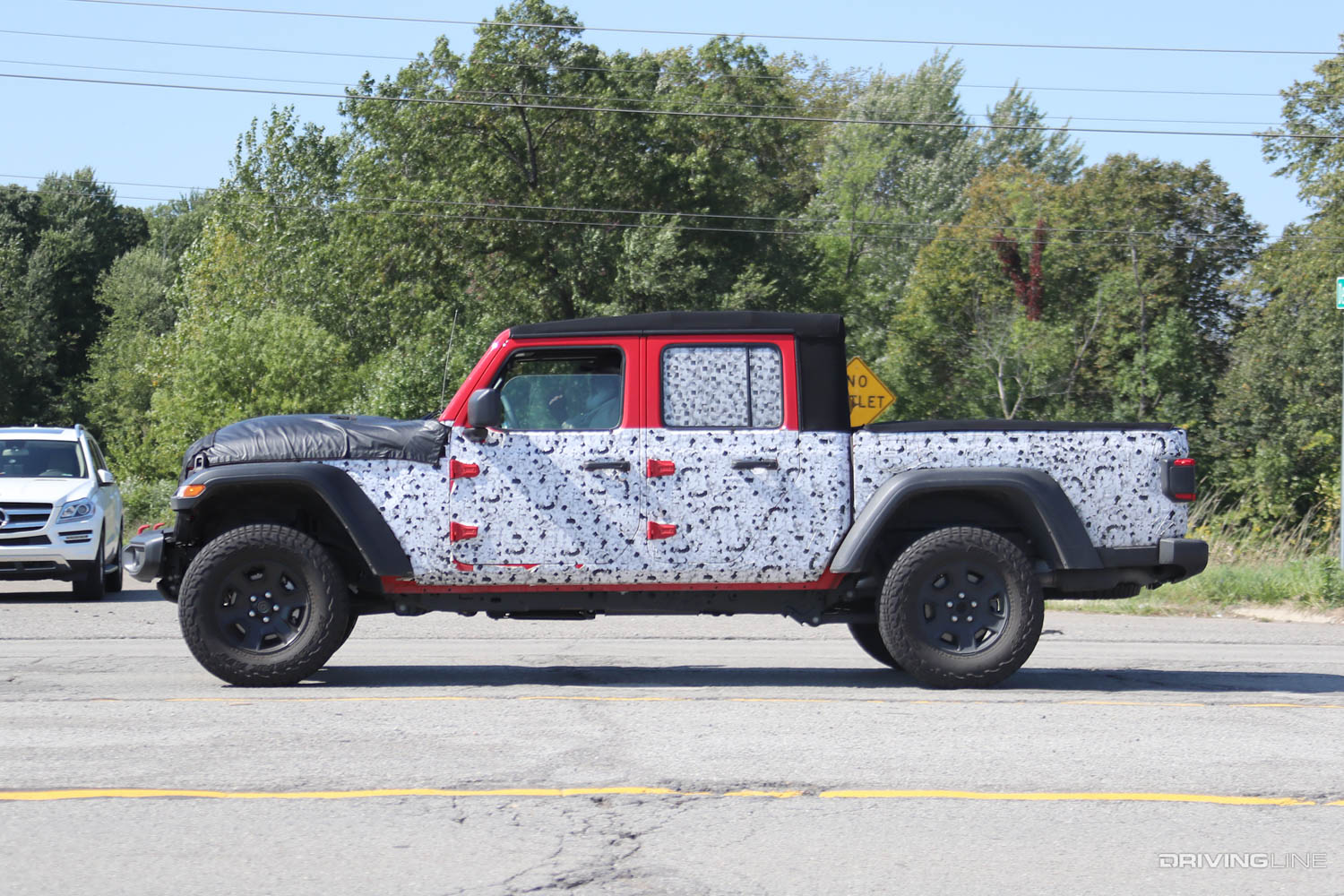 2020 jeep gladiator hercules spy photos  drivingline