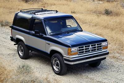 Return Of The Bronco Ii Drivingline