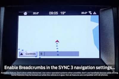 Breadcrumbs Ford S New Nav Trick Drivingline