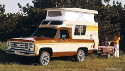 4 Classic Truck Campers Drivingline