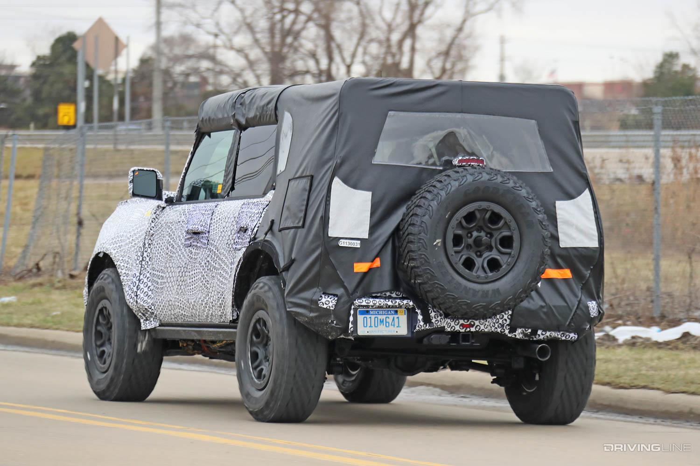 "2021 Ford Bronco ""Raptor?"" Spy Photos | DrivingLine"