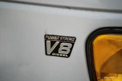 V8 Power Stroke Diesel Badge