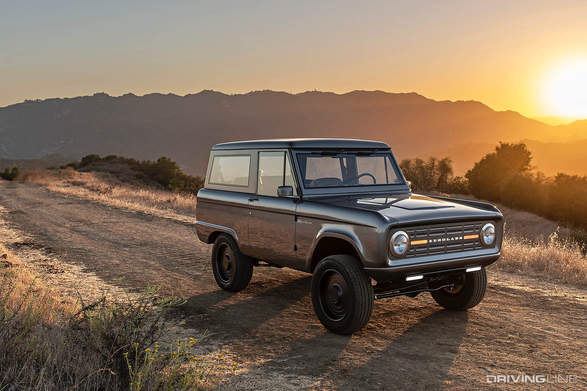 Past Meets Future: The All-Electric 600 hp Classic Bronco ...