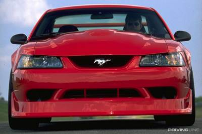 2000 Mustang Cobra R Front View