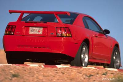 2000 Mustang Cobr R Rear View