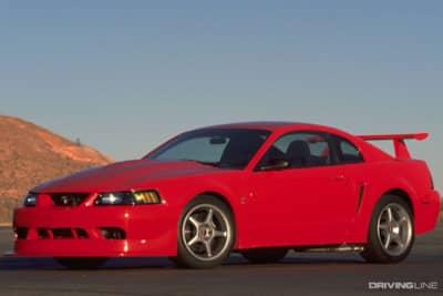 2000 Mustang Cobra R Red