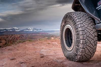 Nitto ridge grappler jeep wrangler jk moab utah