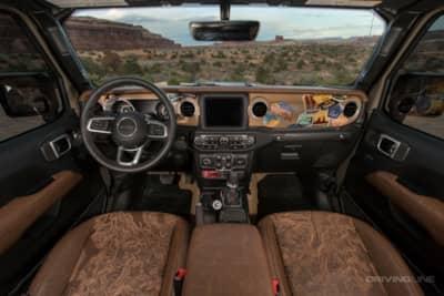 Jeep Gladiator Wayout interior