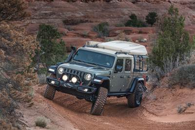 2020 Jeep Gladiaor ecoDiesel overland concept
