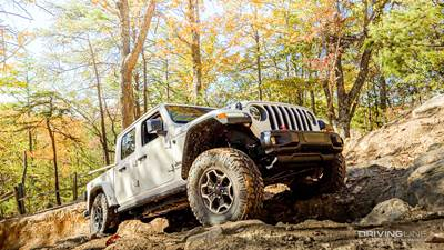 Jeep Gladiator Rubicon 35 no lift
