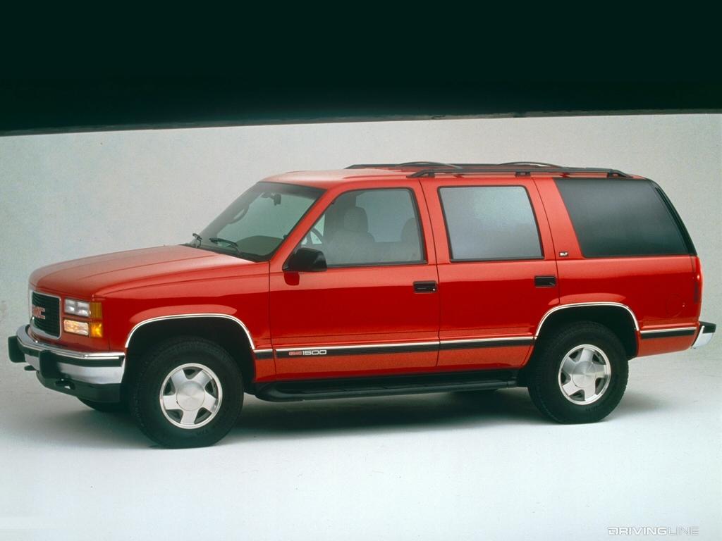 90s Era Chevrolet Tahoe And Gmc Yukon Ushered In Gm S Suv Future Drivingline