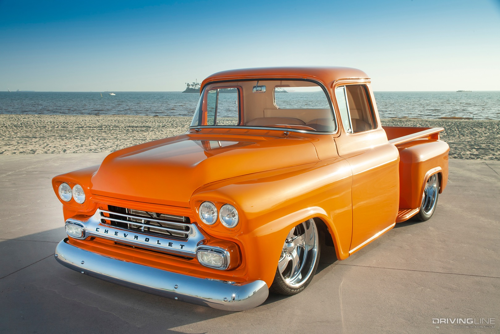 Orange Crate A Family Built 59 Chevy Pickup Truck Drivingline