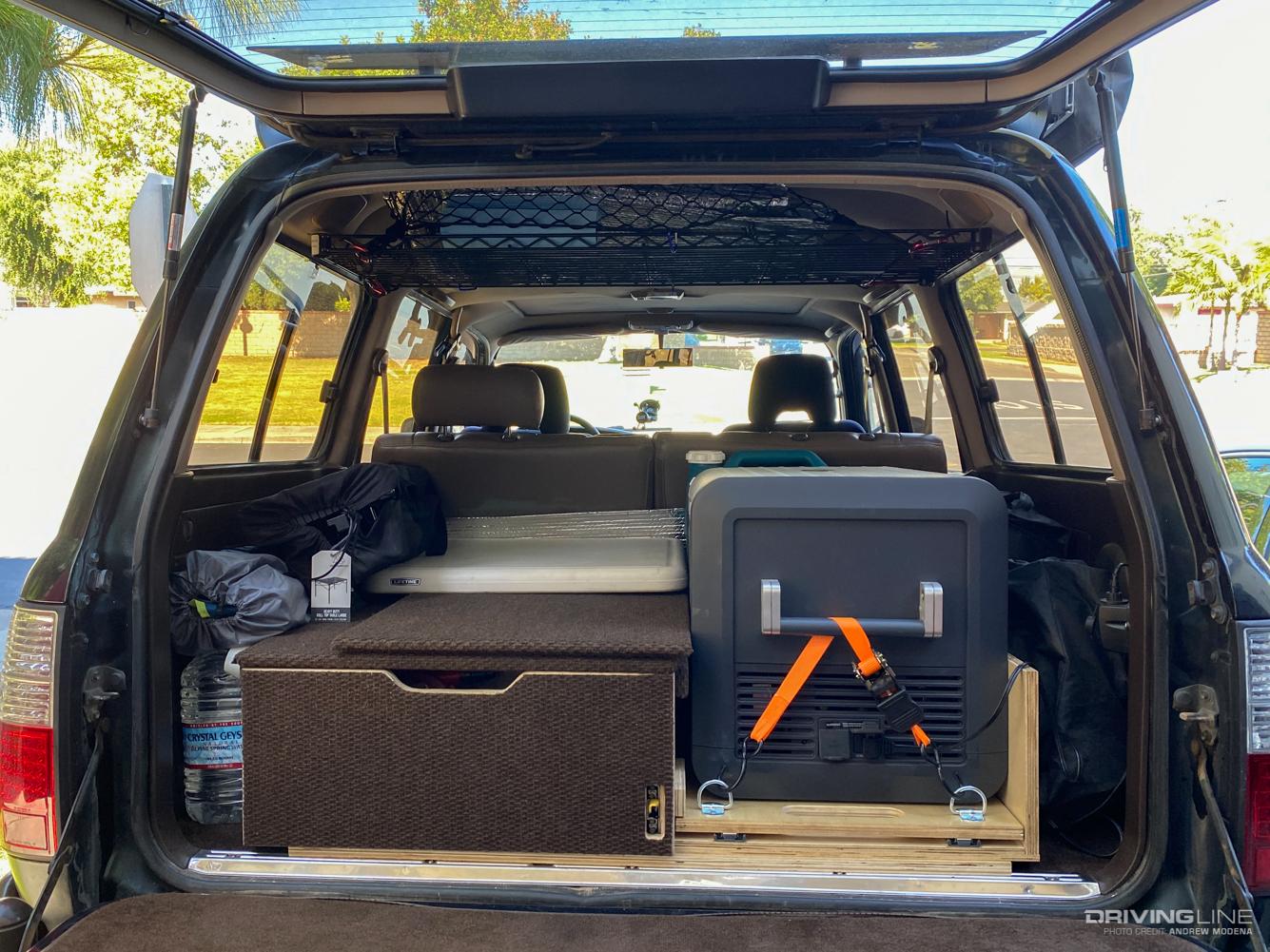 Overlanding Storage Solutions Should You Install A Drawer Or Sleeping Platform Drivingline