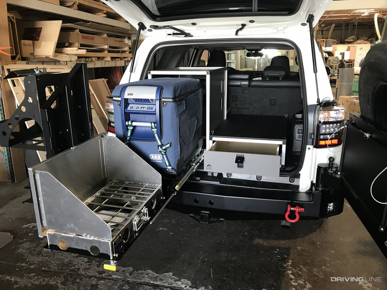 Overlanding Storage Solutions Should You Install A Drawer Or Sleeping Platform Drivingline
