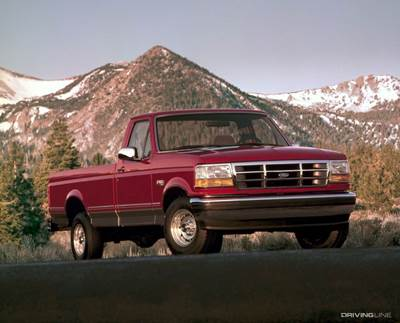 Ford F-150 Mountains