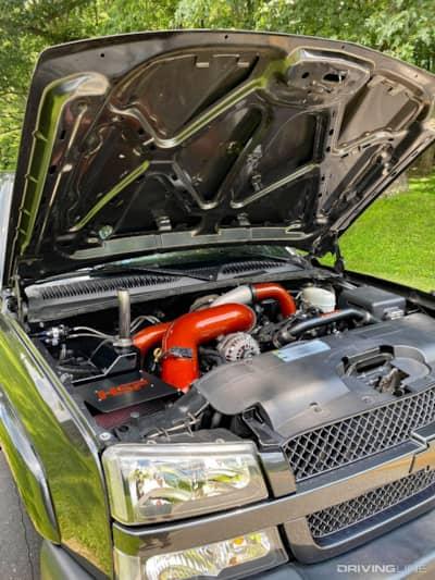 Duramax single turbo diesel