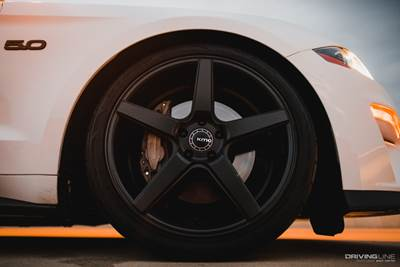 KMC wheel with Nitto NT555G2