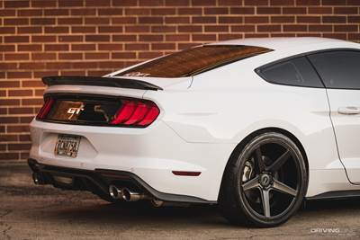 Rear of the Ford Mustang S550 900 hp