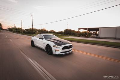 Ford Mustang S550 on Nitto NT555G2