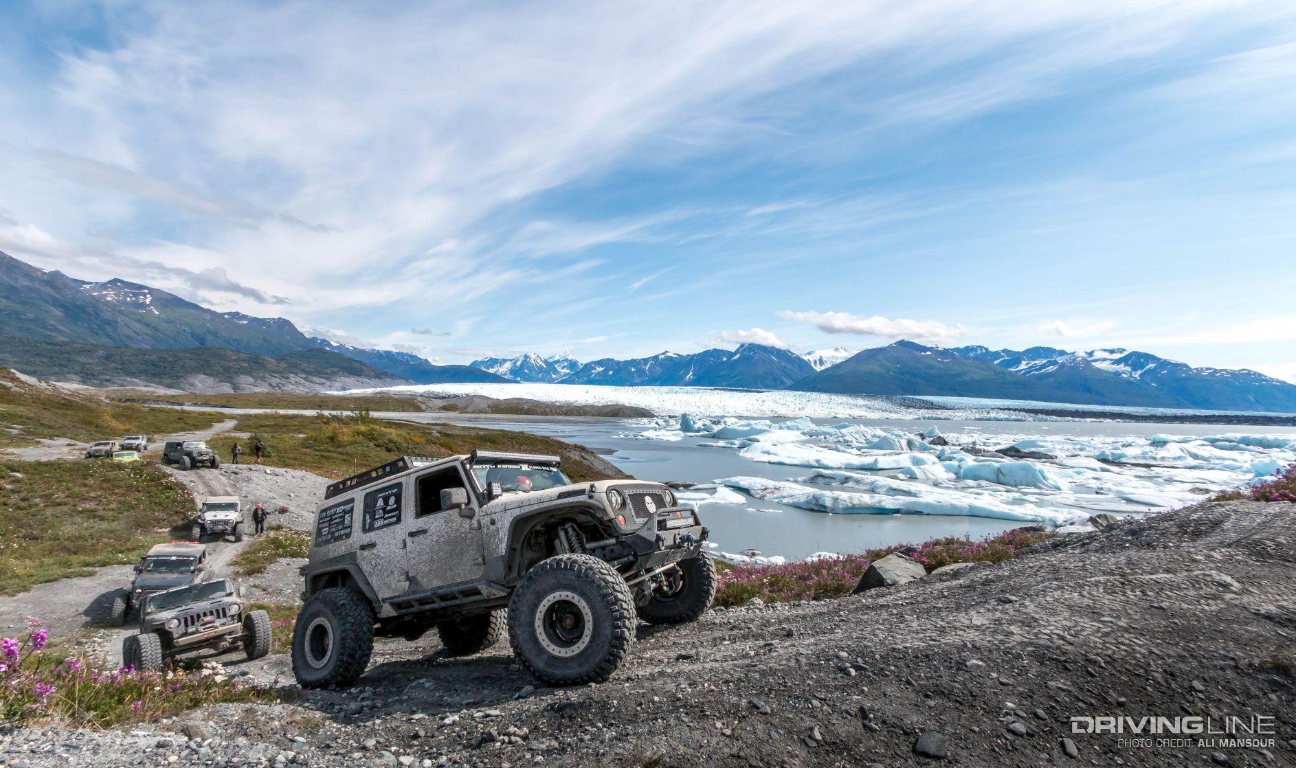 Jeep Wrangler JK's of the 2016 Nitto JKX Alaska | DrivingLine