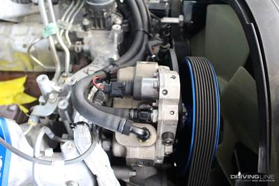 The advantages of running dual injection pumps on a diesel
