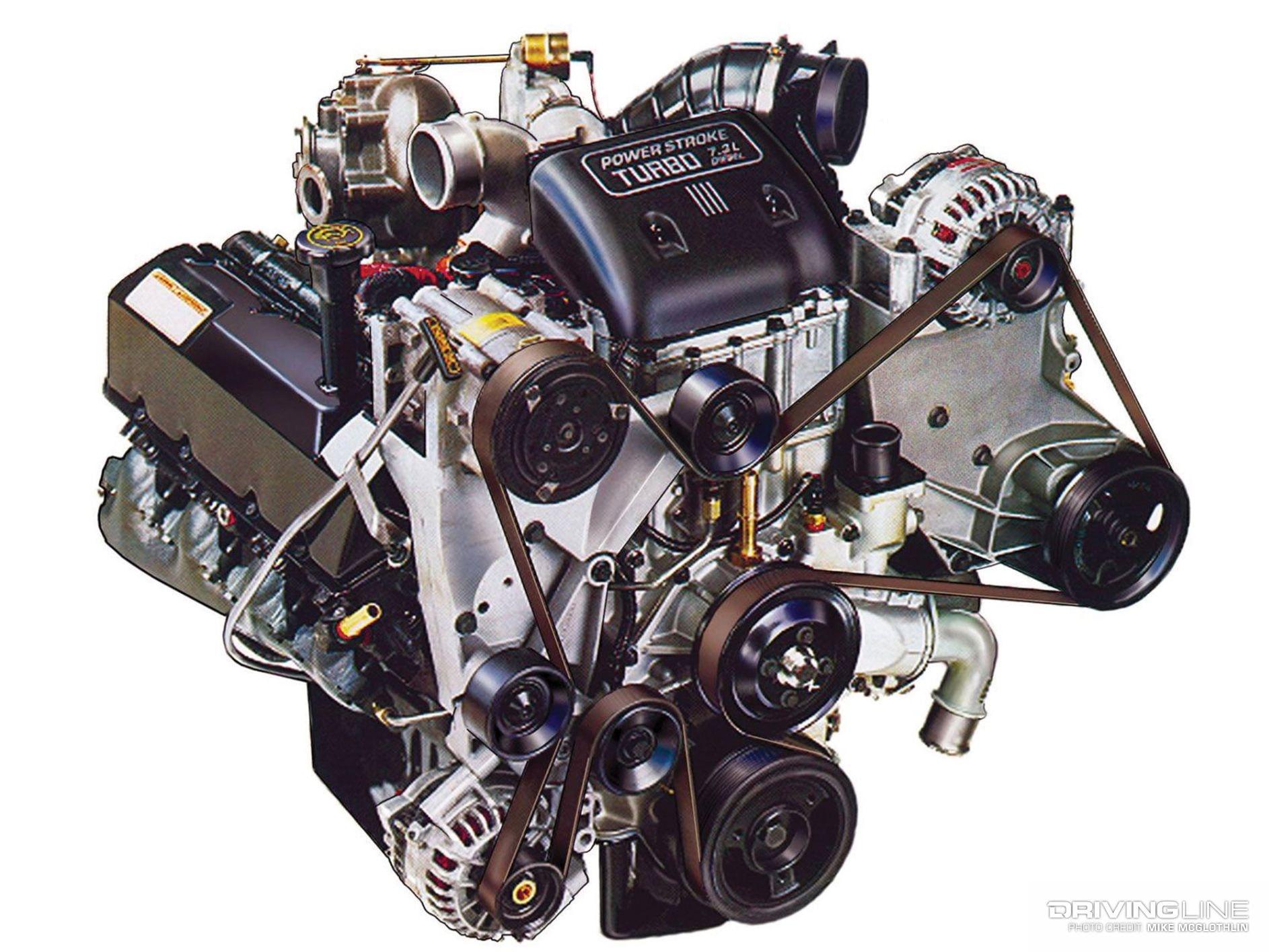 7 3l vs 6 0l which power stroke is really better? drivingline002 7 3 power stroke diesel engine