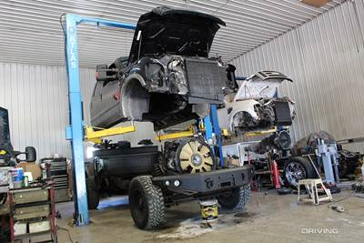 6.4 powerstroke cab removal cost