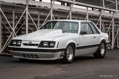 1985 Fox Body Mustang Notchback