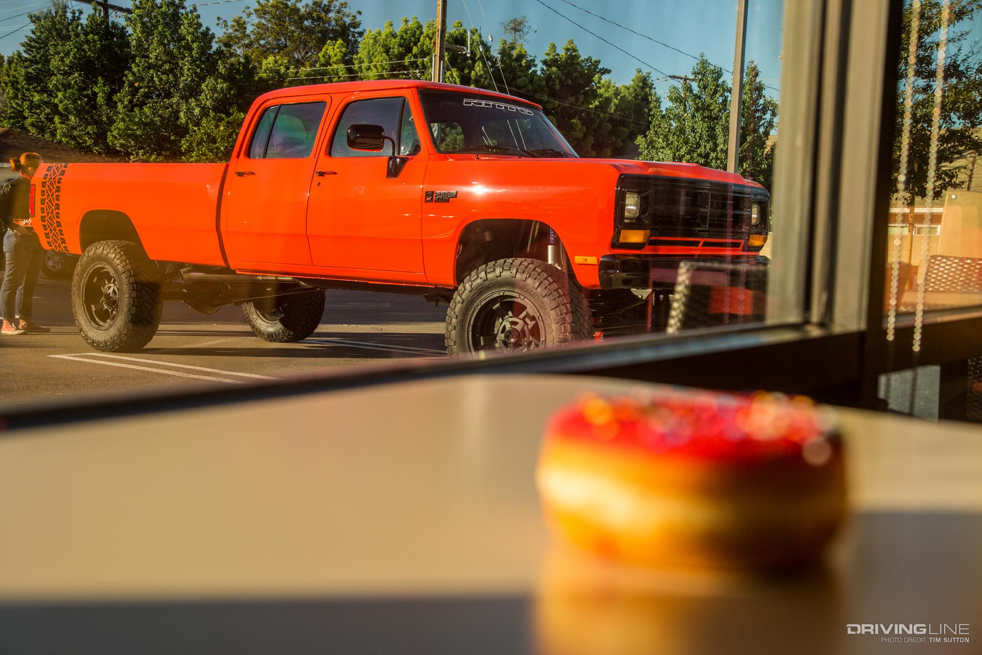 Dodge Ram 6bt Crew Cab Breakfast With The Lobster Wagon Drivingline