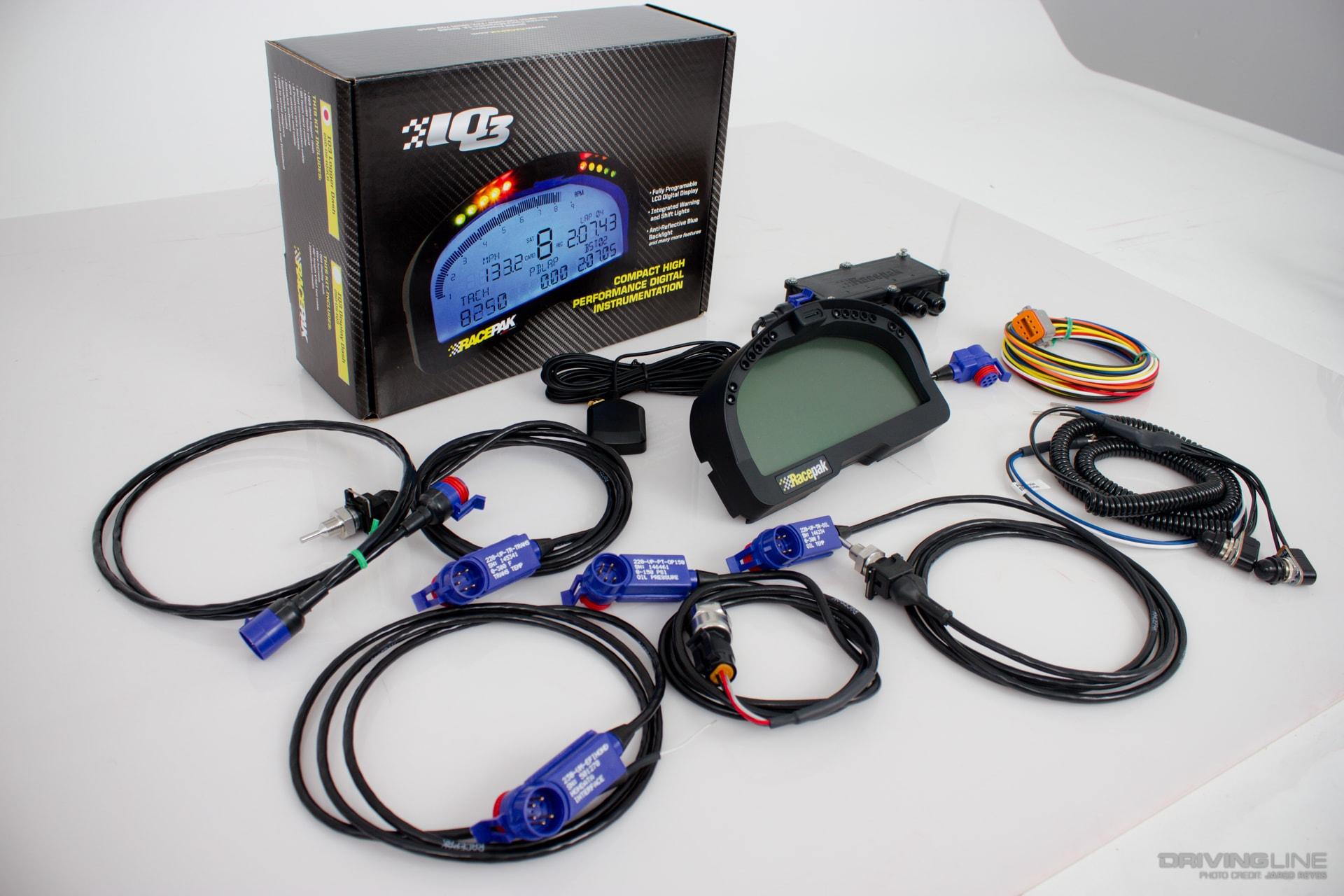 racepak iq3 digital dash and data logger installation drivingline Big Stuff 3 Wiring Diagram racepak iq3