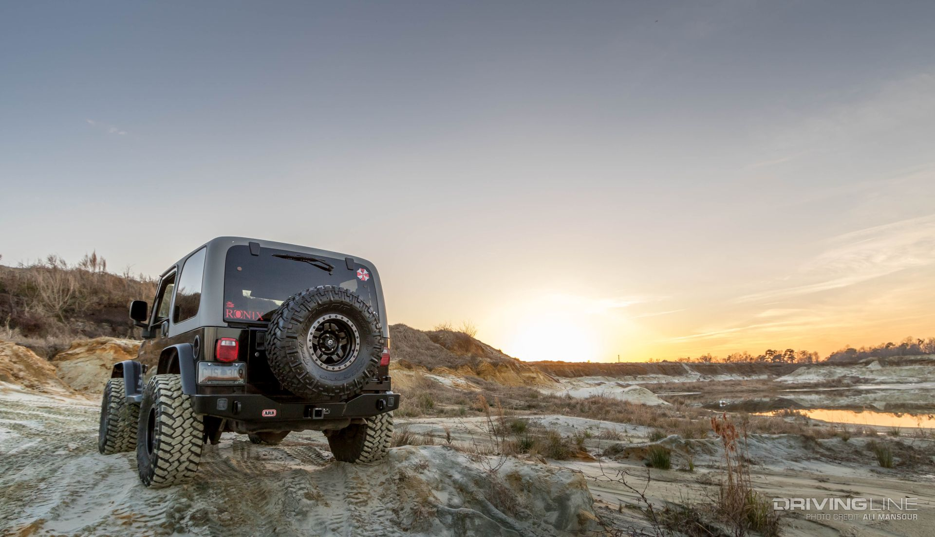 ARB Jeep Wrangler Rear Bumper and Tire Carrier Review ...