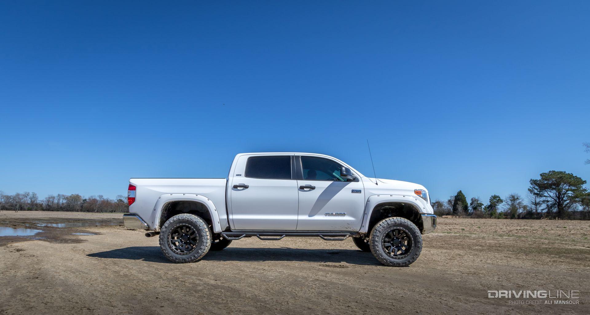 2014 Toyota Tundra Skyjacker 6-inch Lift Review   DrivingLine