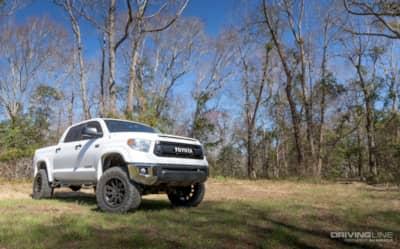 2014 Toyota Tundra Skyjacker 6-inch Lift Review | DrivingLine