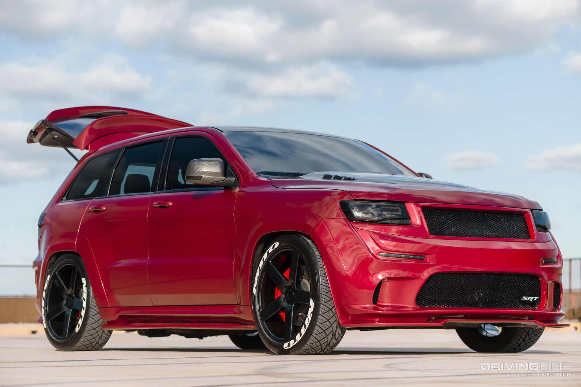 2012 Jeep Grand Cherokee SRT8 Supercharged Monster ...