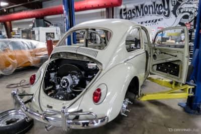 hot rod bug gas monkey garage 39 s 1965 volkswagen beetle drivingline. Black Bedroom Furniture Sets. Home Design Ideas